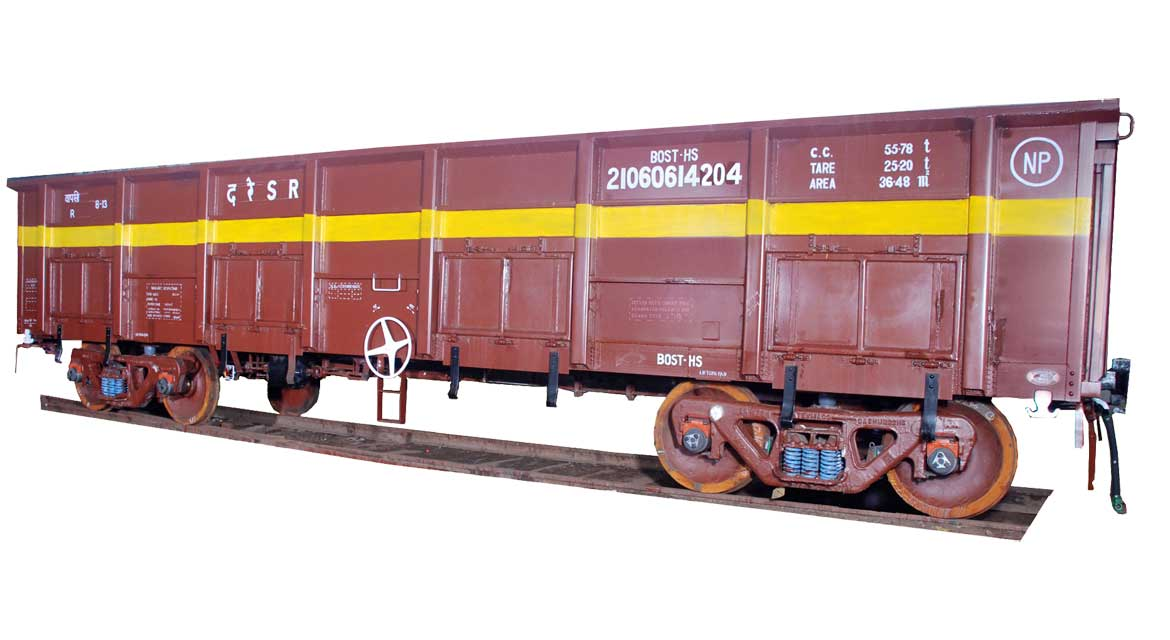 Open TYpe Freight Car